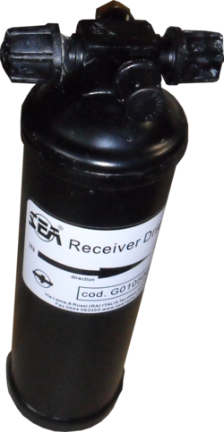 Vertical receiver dryer 0,5Kg